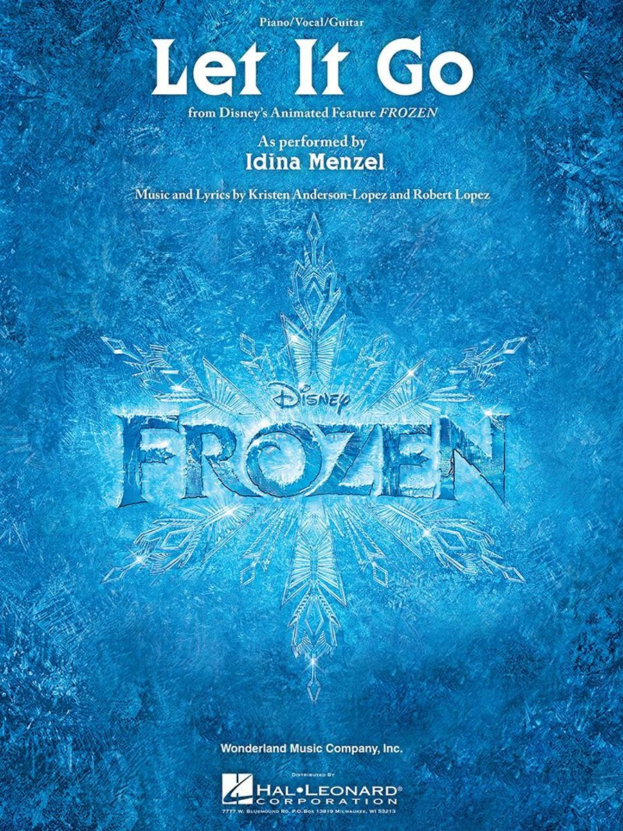 Let It Go (from ''Frozen'') Sheet Music