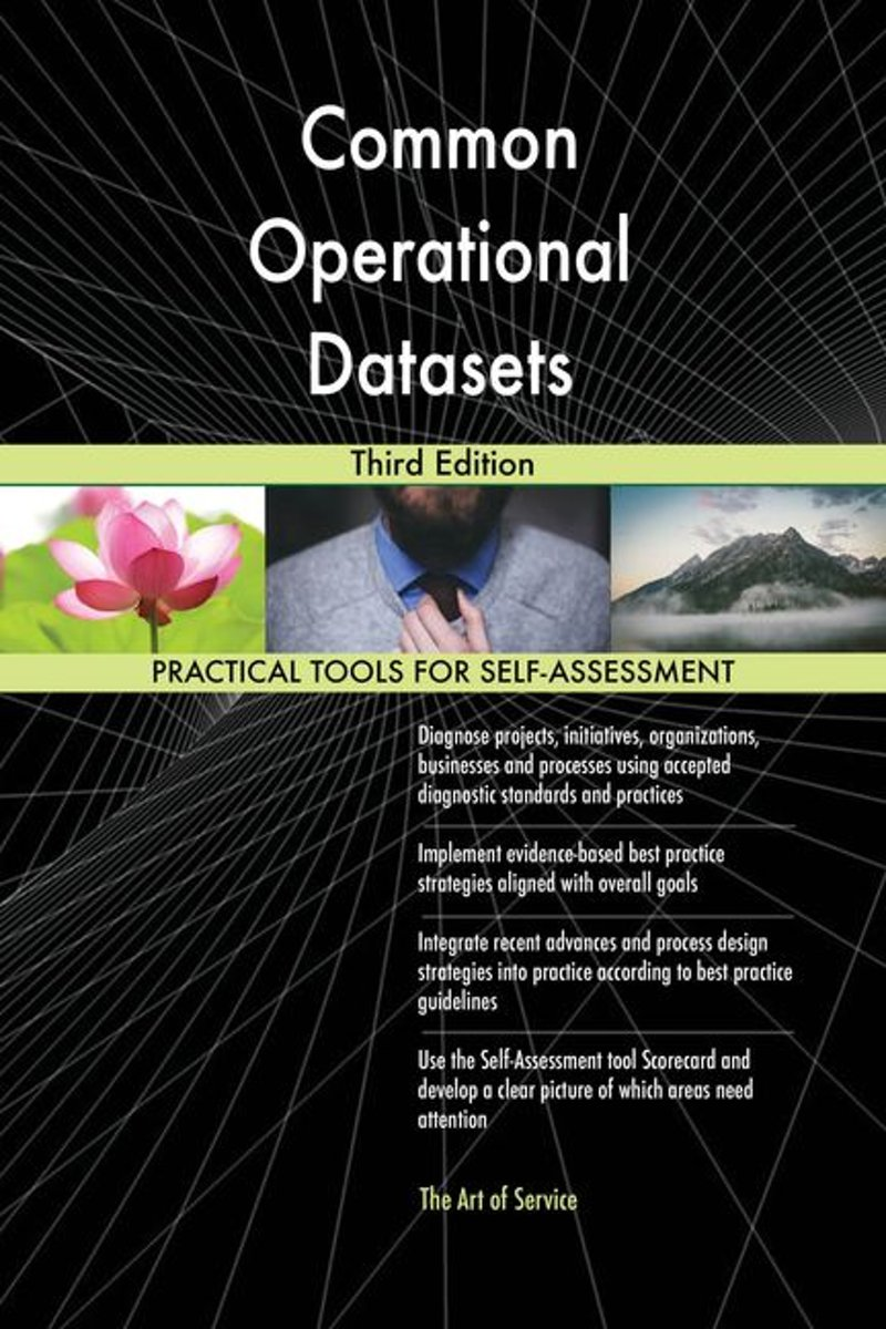 Common Operational Datasets Third Edition