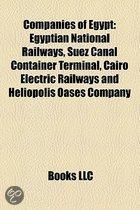Companies Of Egypt: Companies Based In Cairo, Egypt, Egyptian National Railways, Harf Information Technology, Suez Canal Container Termina