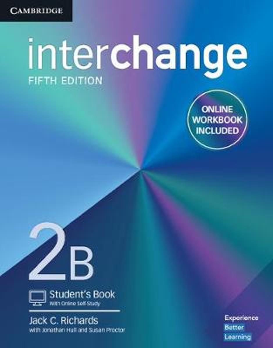 Interchange Level 2B Student's Book with Online Self-Study and Online Workbook