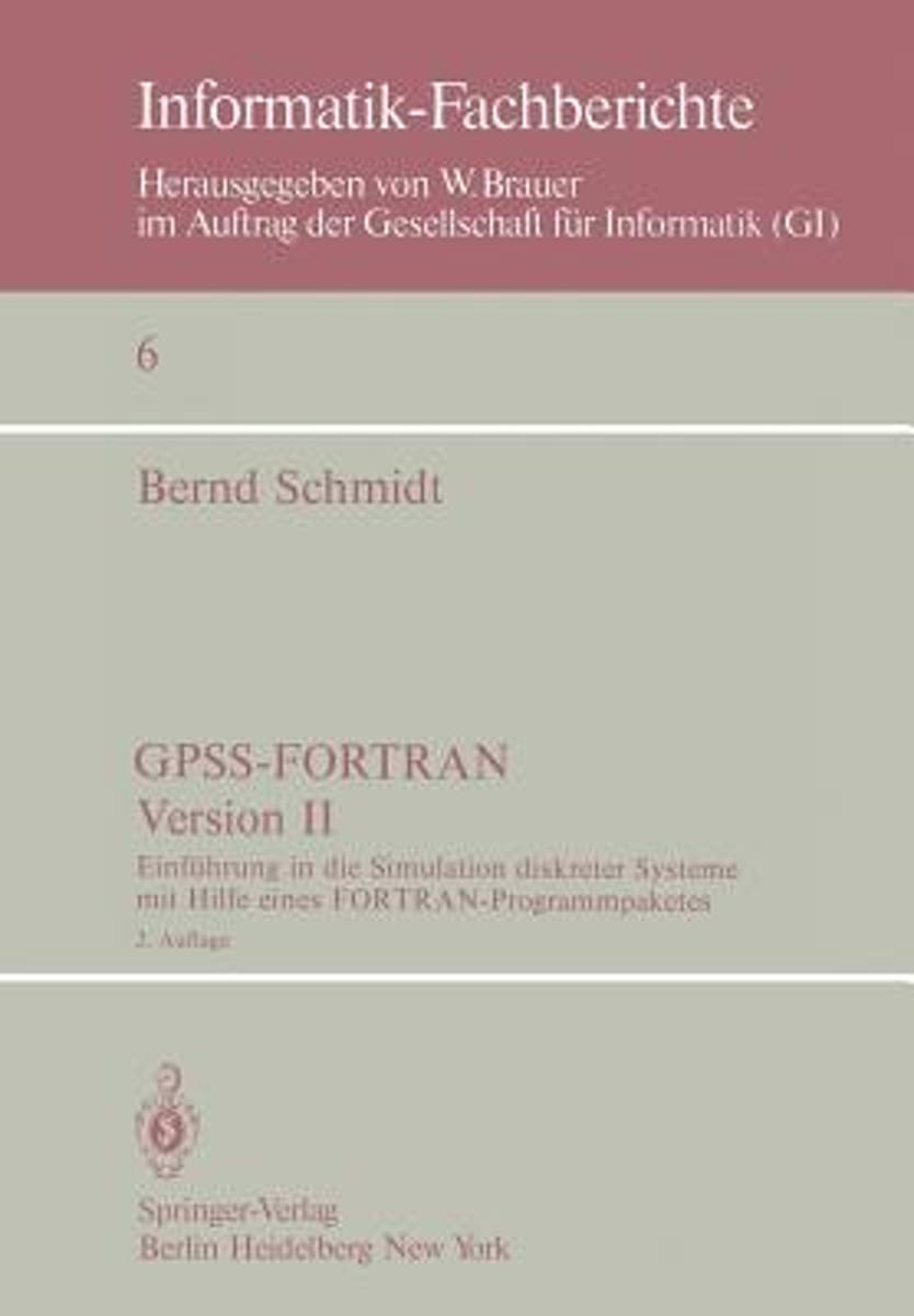 GPSS-FORTRAN, Version II