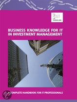 Business Knowledge for It in Investment Management