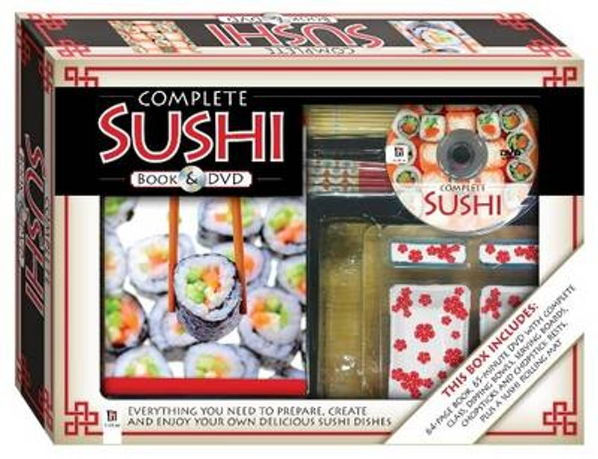 Complete Sushi Book and DVD (PAL)