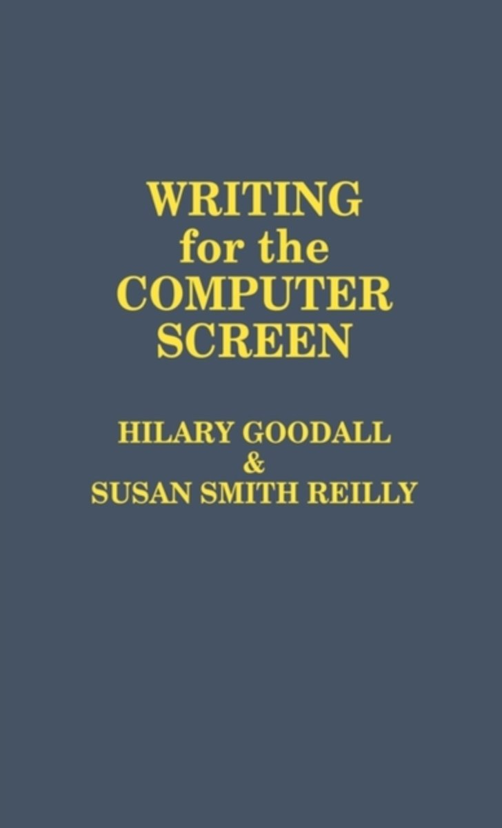 Writing for the Computer Screen