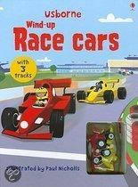 Wind-Up Race Cars [With 2 Wind-Up Cars]