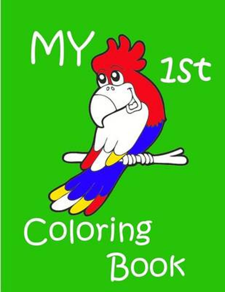 My 1st Coloring Book