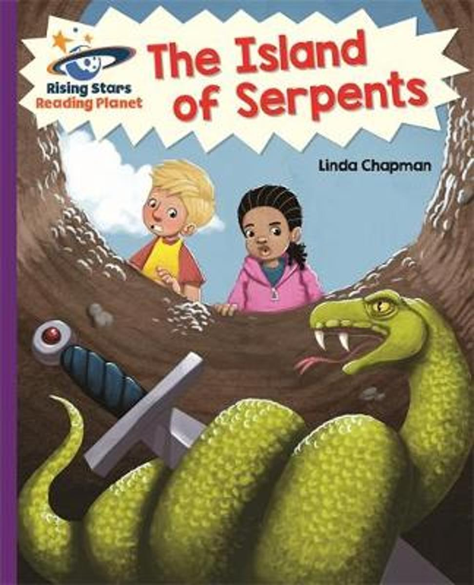 Reading Planet - The Island of Serpents - Purple