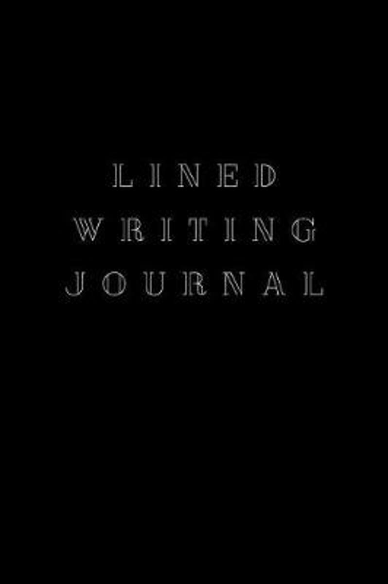 Lined Writing Journal