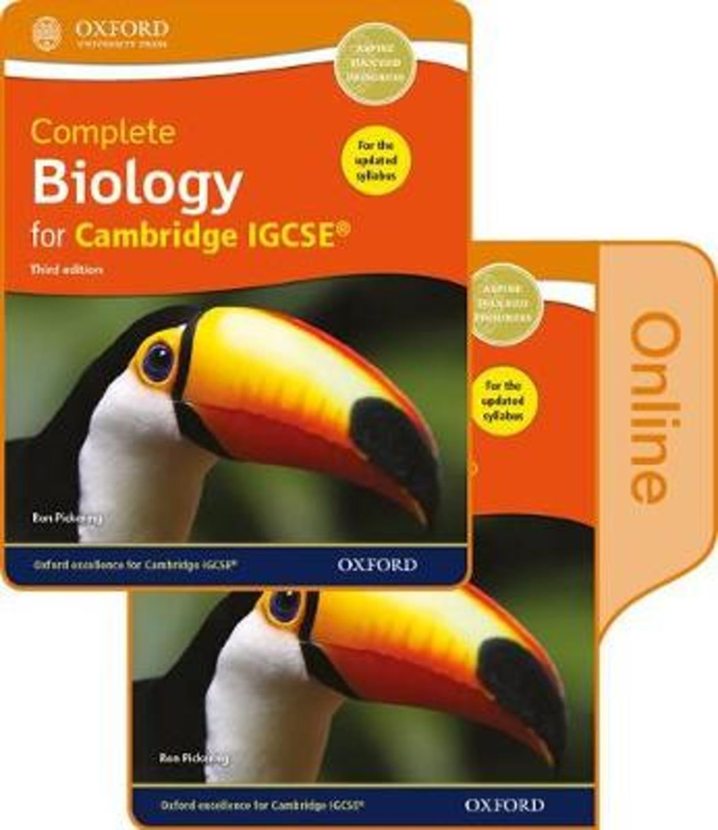 Complete Biology for Cambridge IGCSE (R) Print and Online Student Book Pack