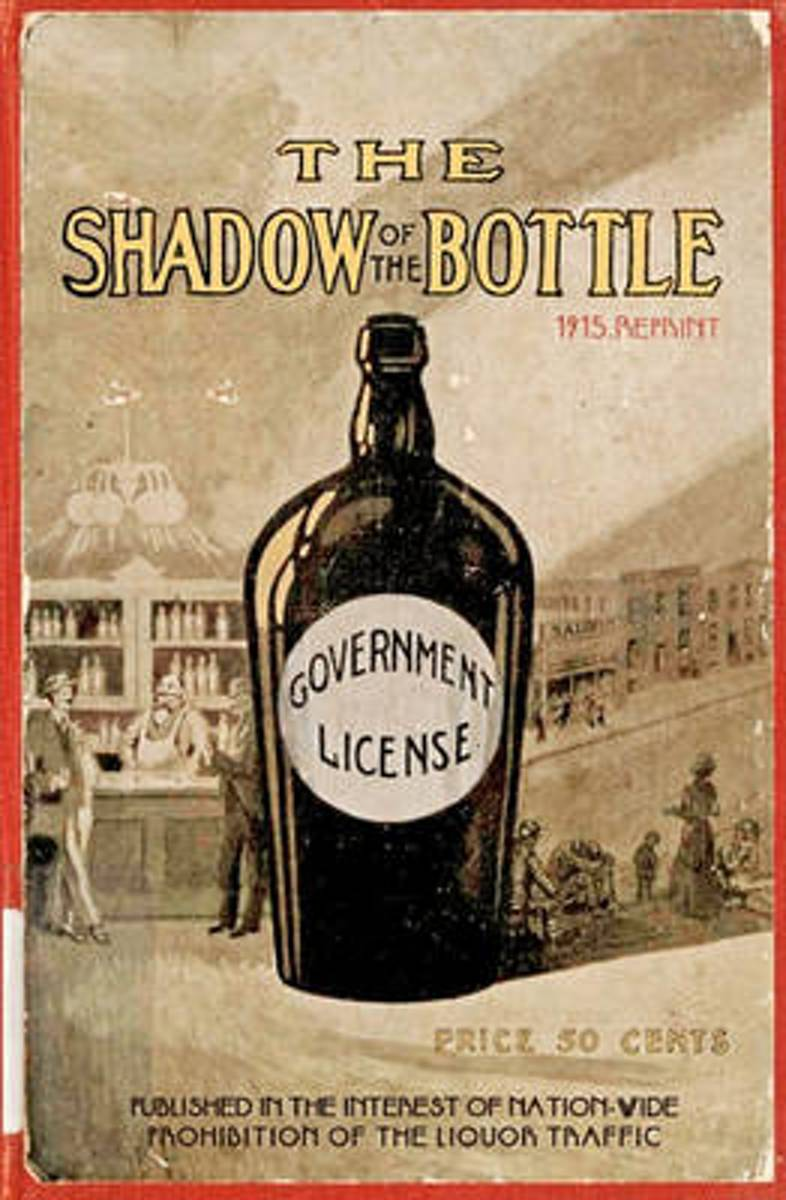 The Shadow of the Bottle 1915 Reprint