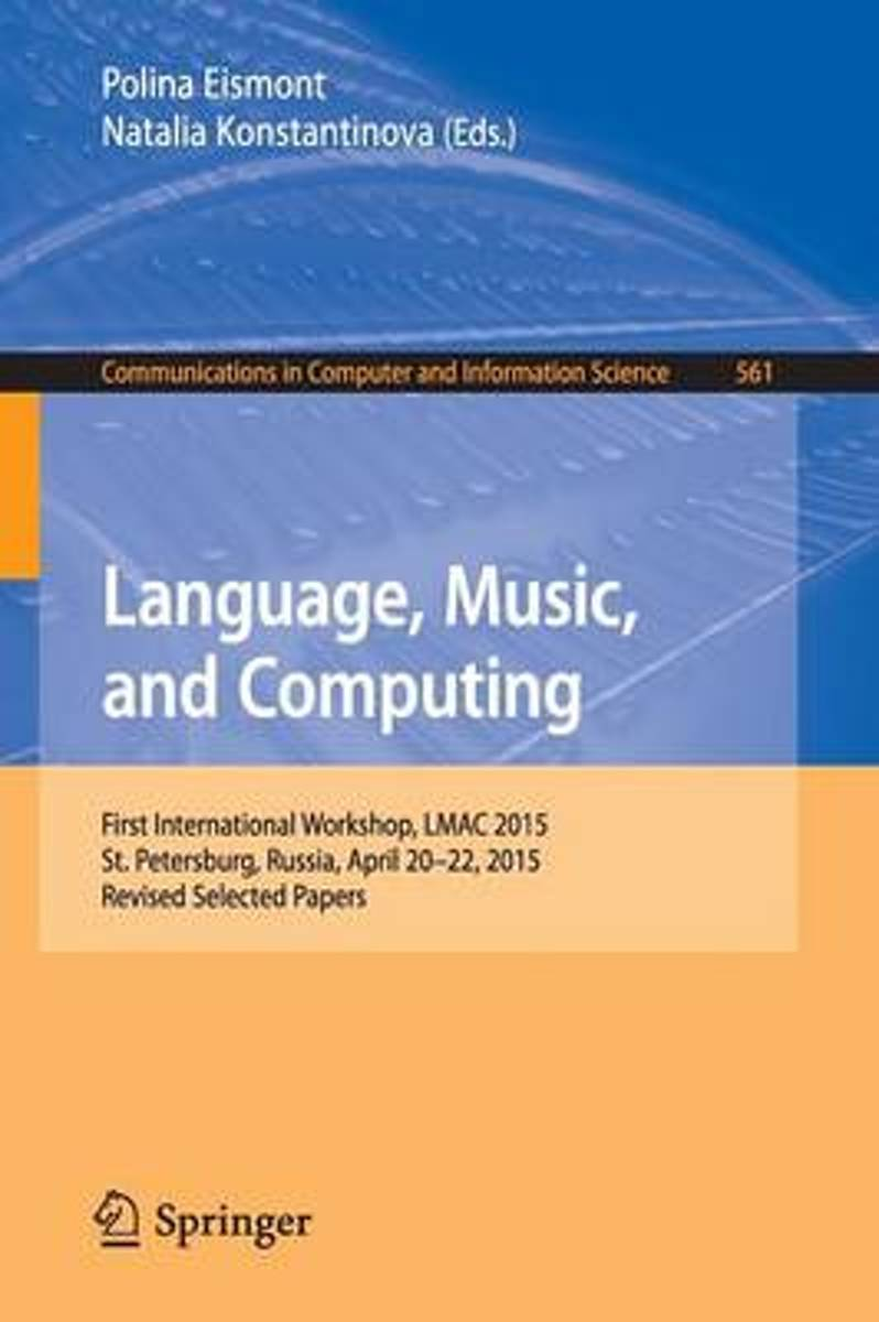 Language, Music, and Computing