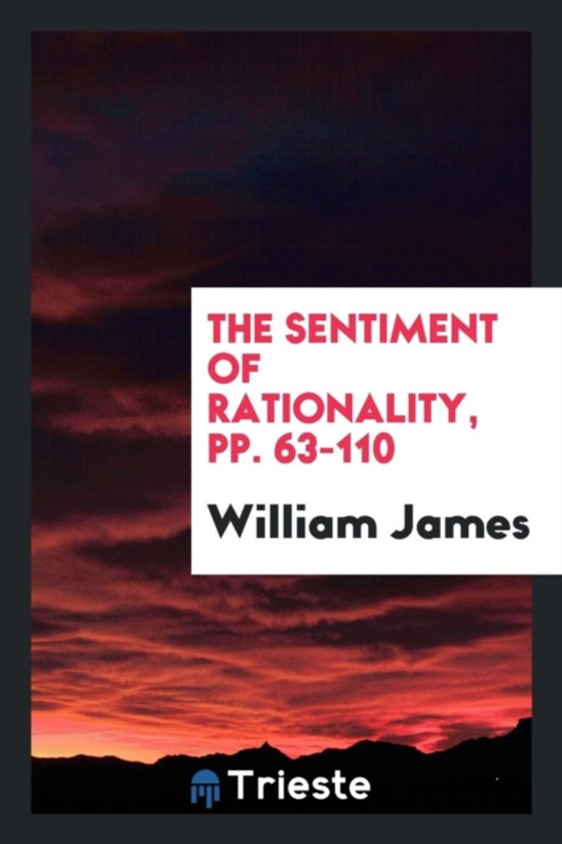 The Sentiment of Rationality, Pp. 63-110