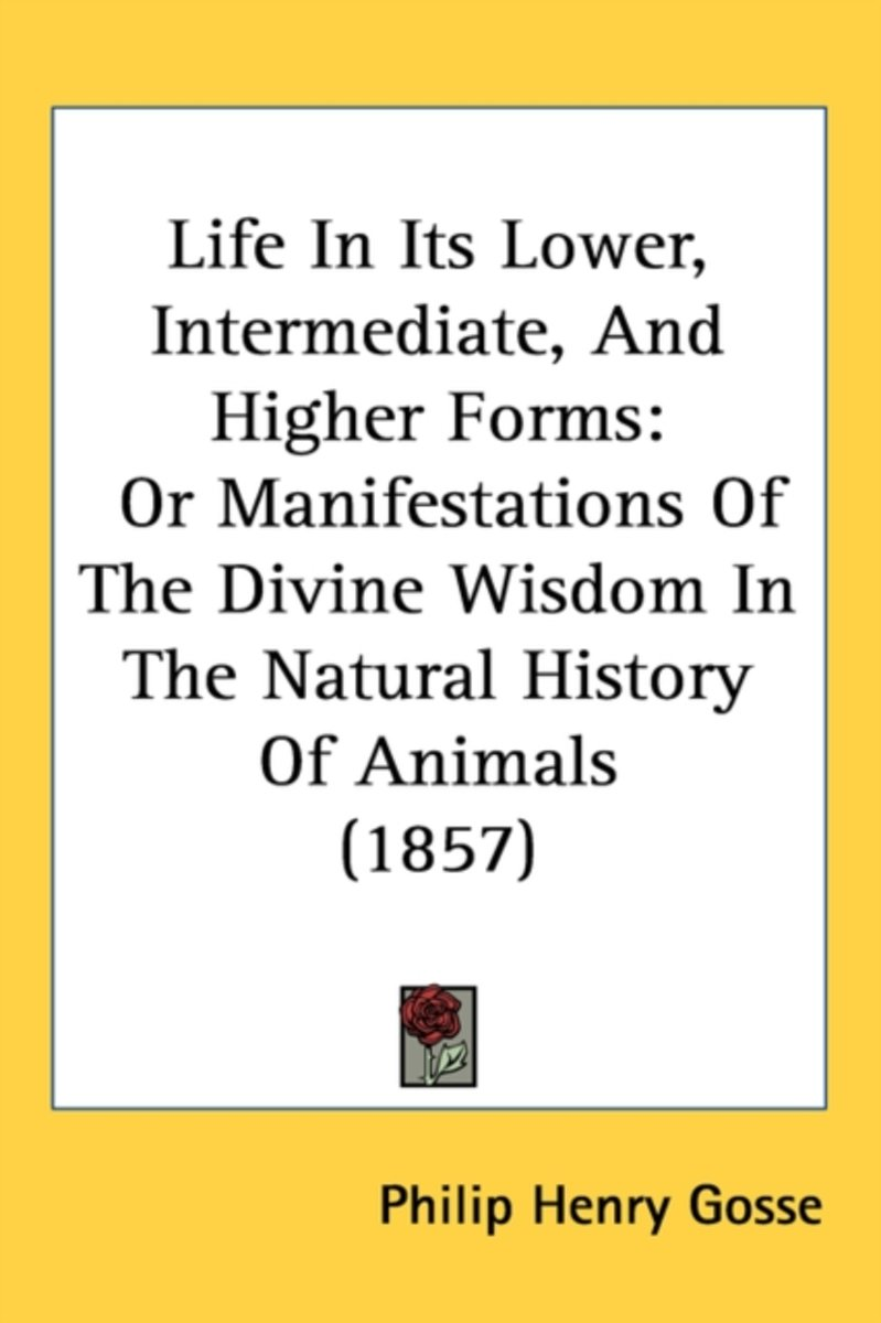 Life In Its Lower, Intermediate, And Higher Forms