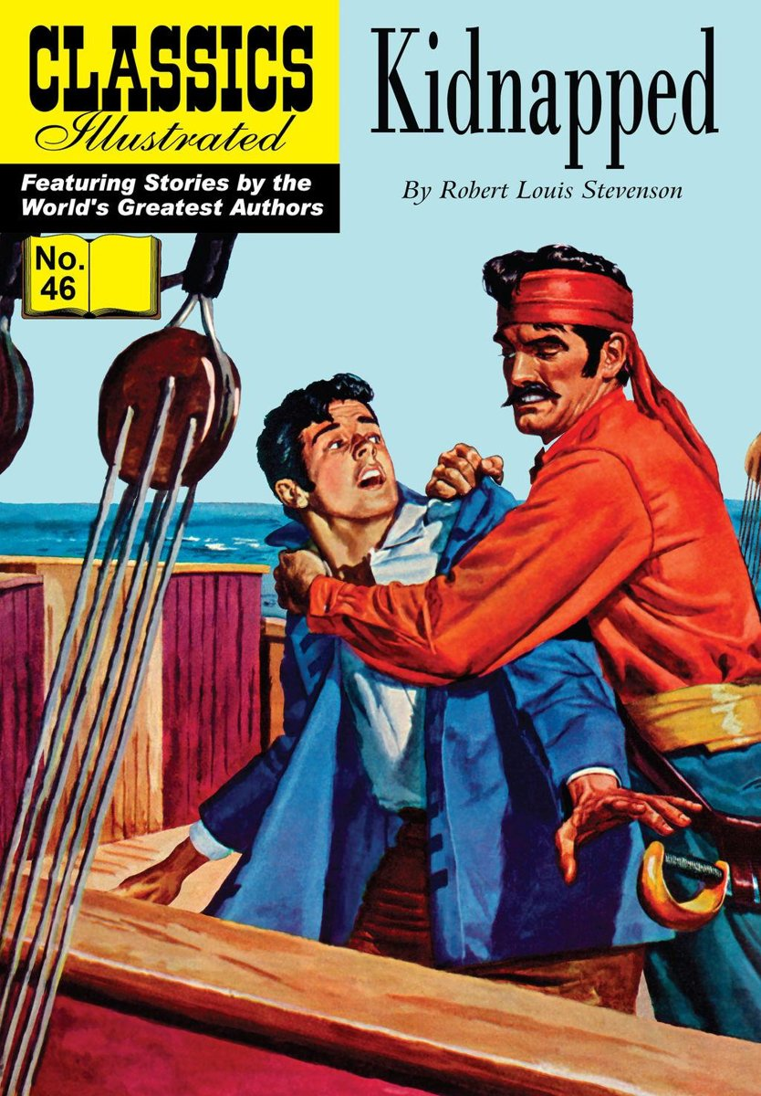 Kidnapped - Classics Illustrated #46