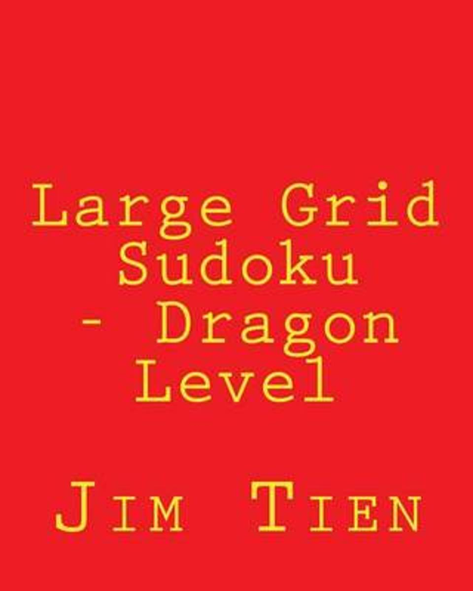 Large Grid Sudoku - Dragon Level