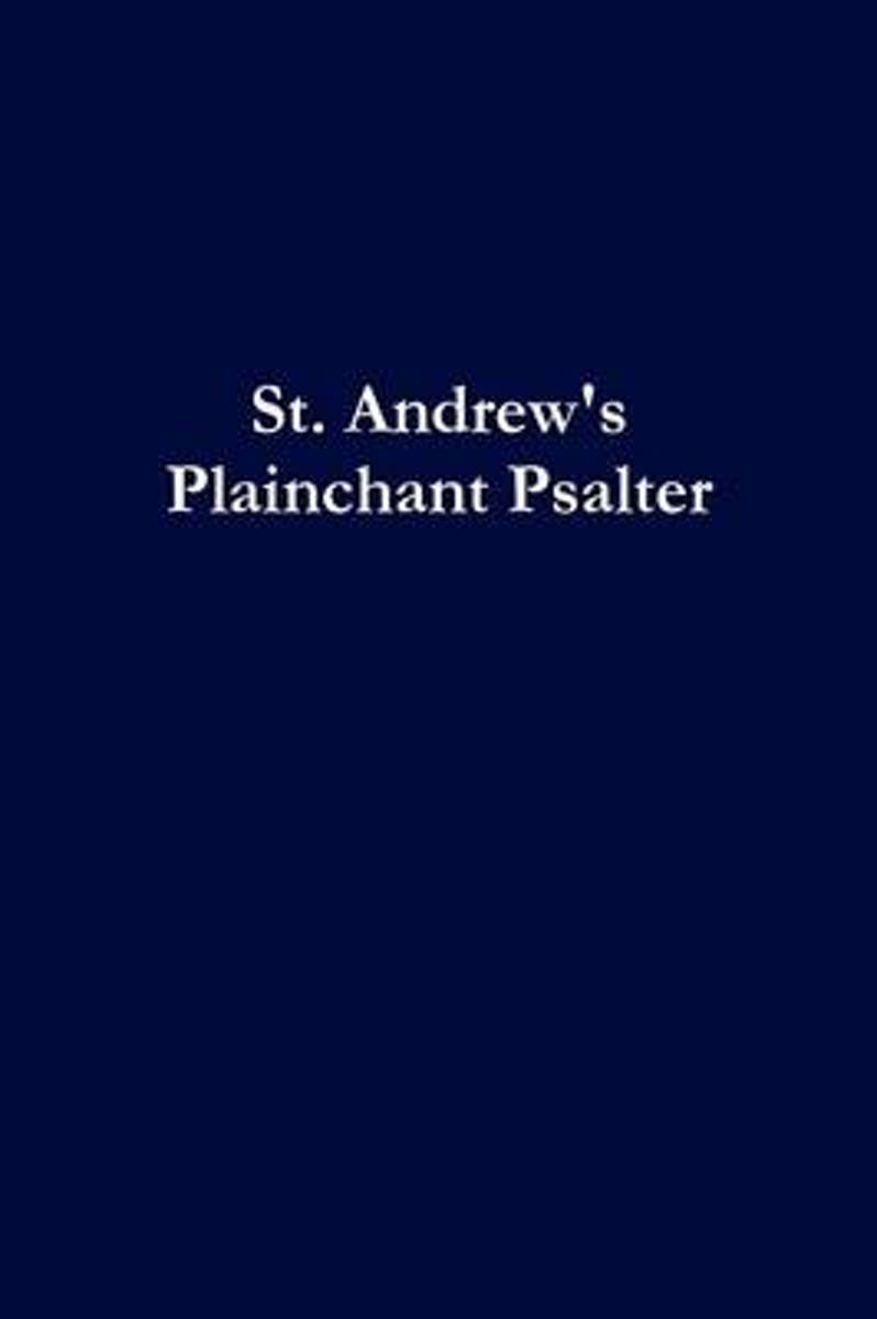 St. Andrew's Plainchant Psalter