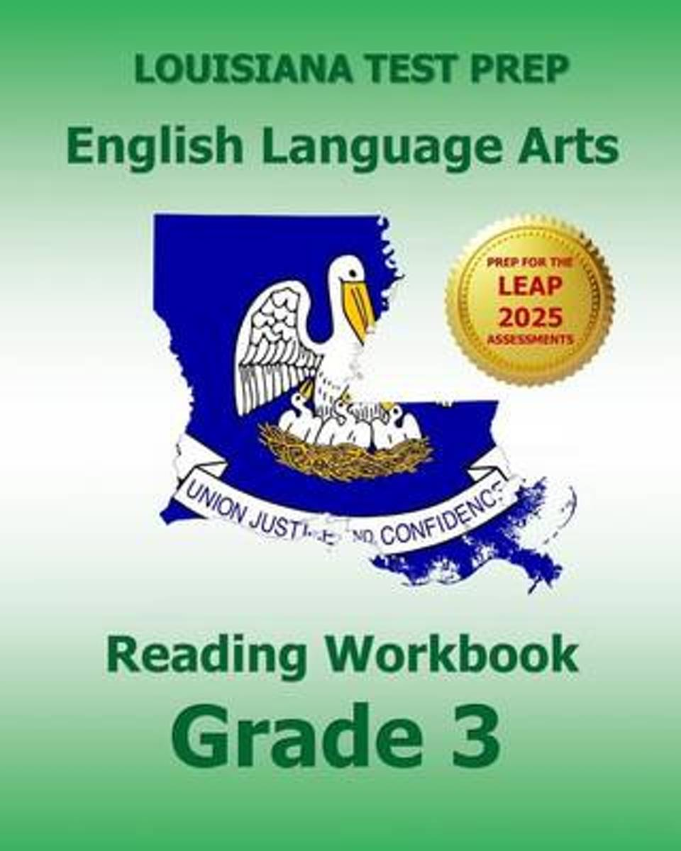 Louisiana Test Prep English Language Arts Reading Workbook Grade 3