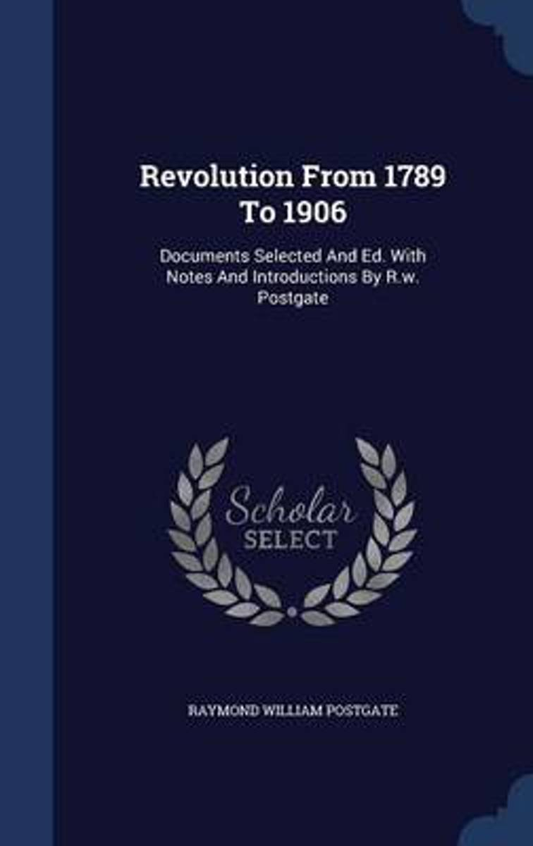 Revolution from 1789 to 1906