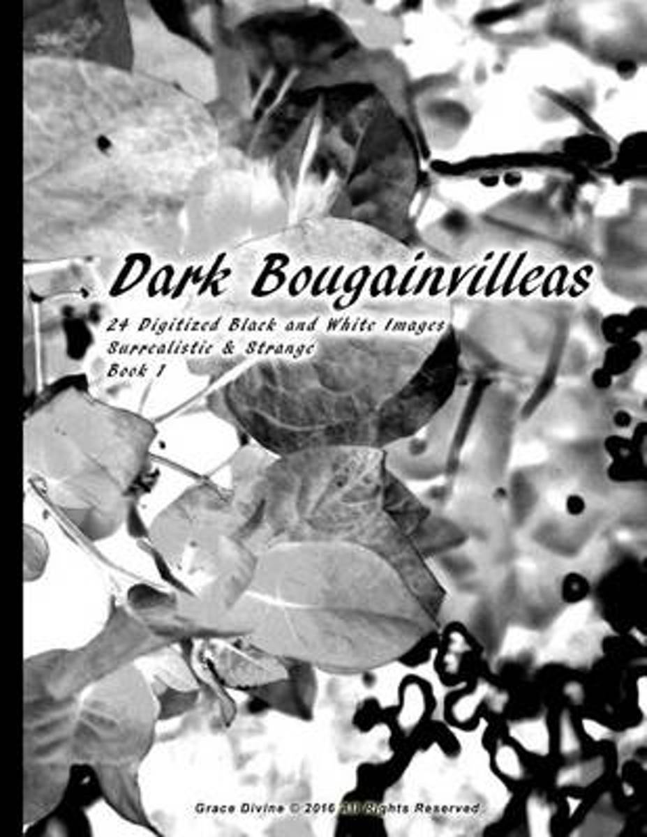 Dark Bougainvilleas 24 Digitized Black and White Images Surrealistic & Strange Book 1