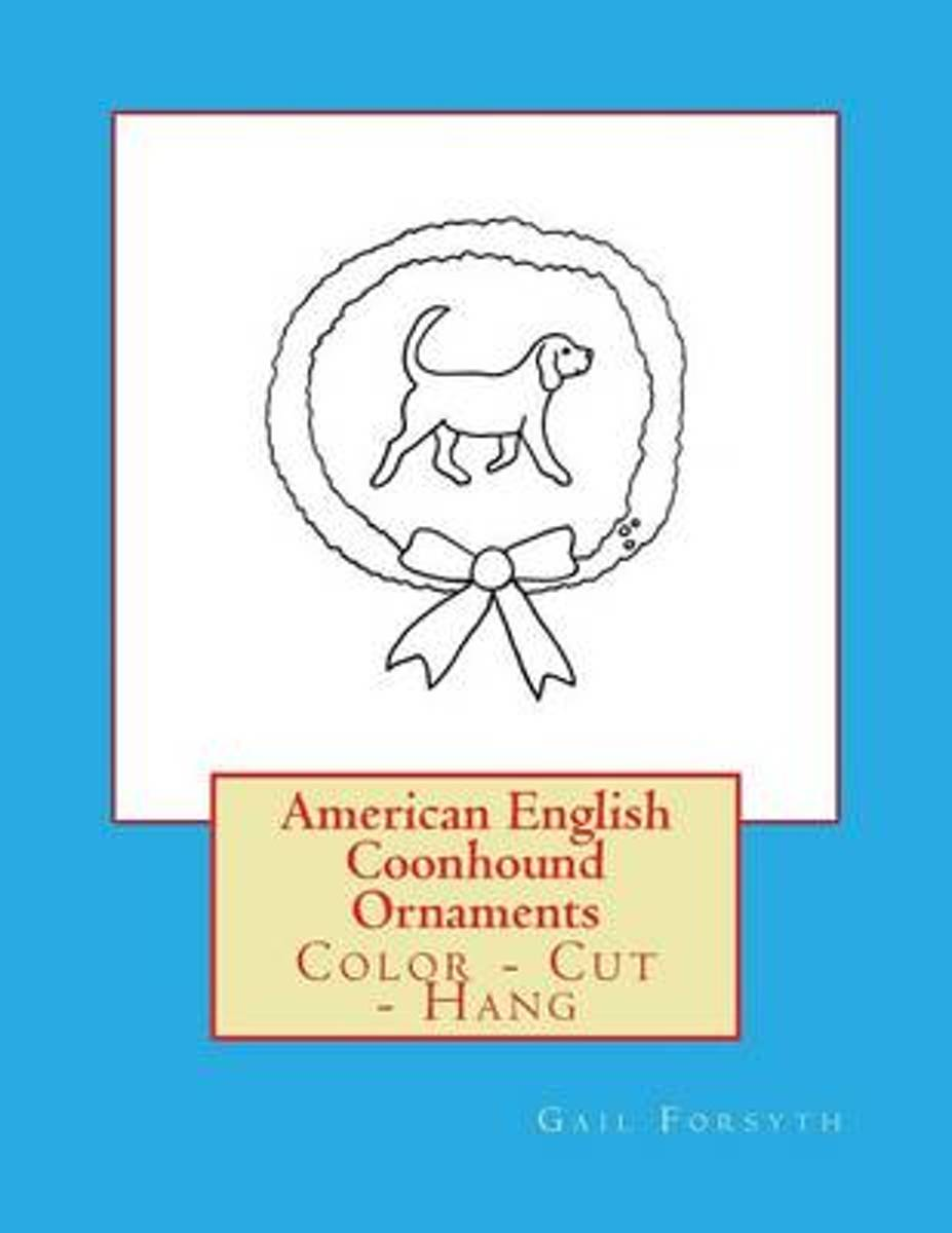 American English Coonhound Ornaments