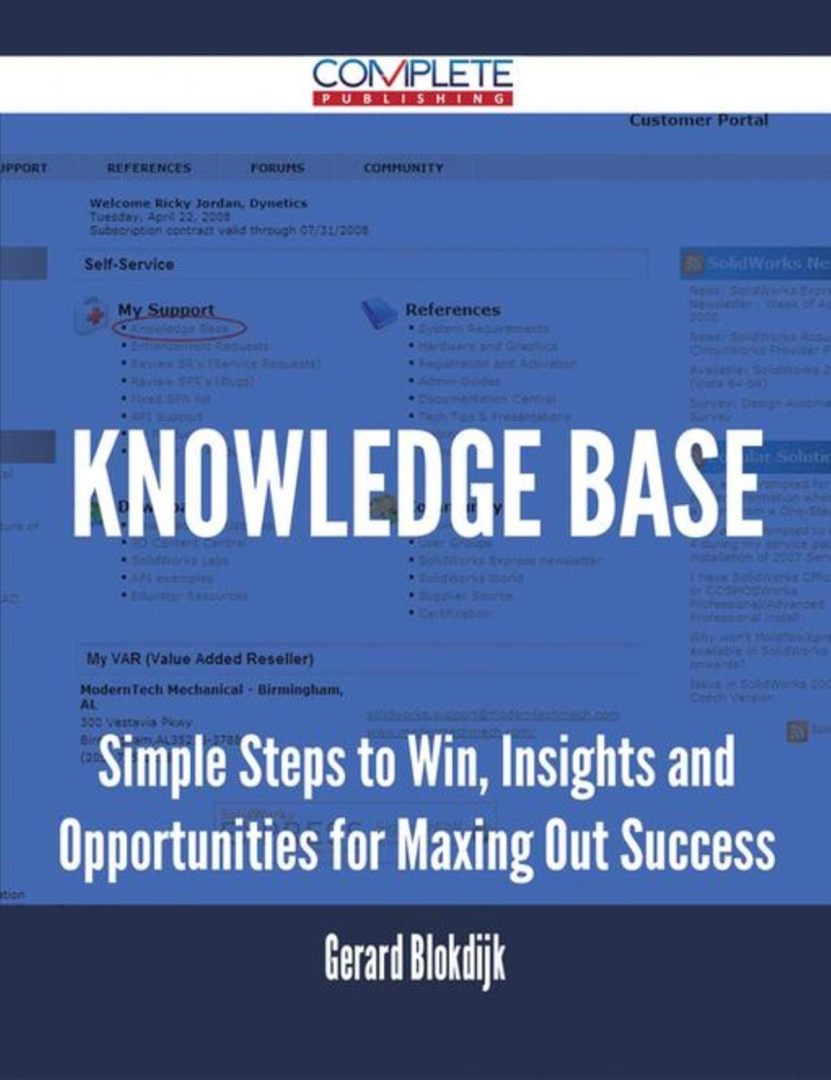 Knowledge Base - Simple Steps to Win, Insights and Opportunities for Maxing Out Success