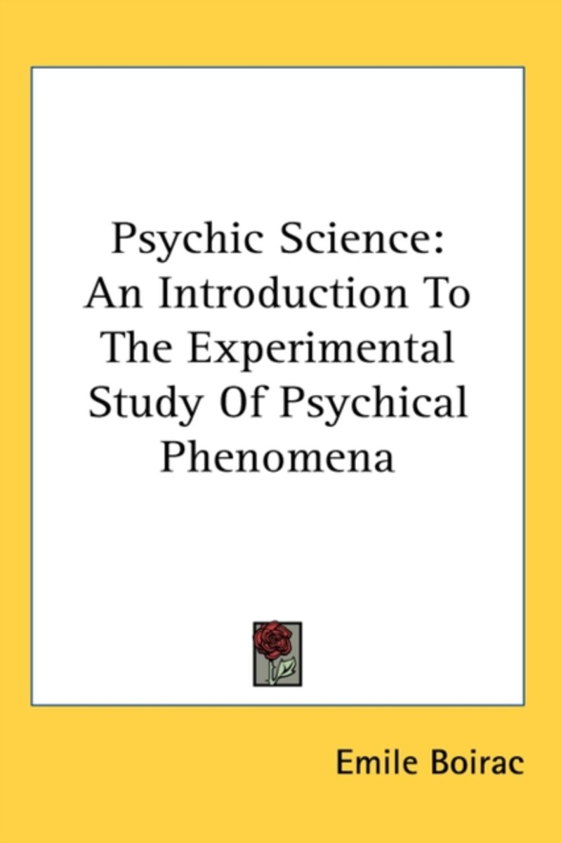 Psychic Science