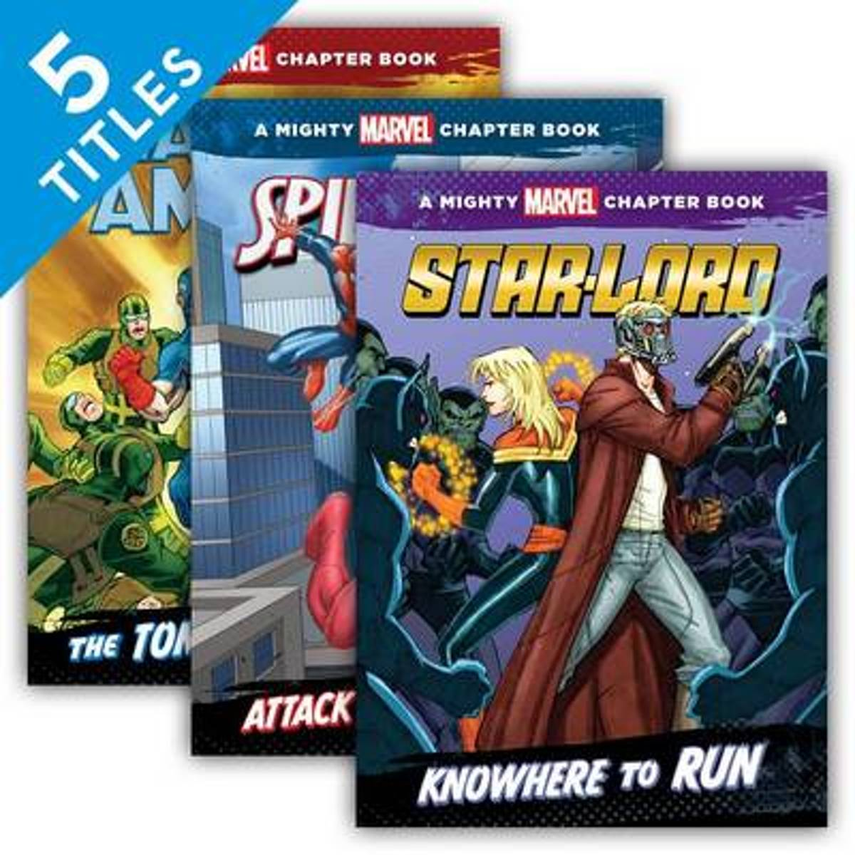 Mighty Marvel Chapter Books (Set)