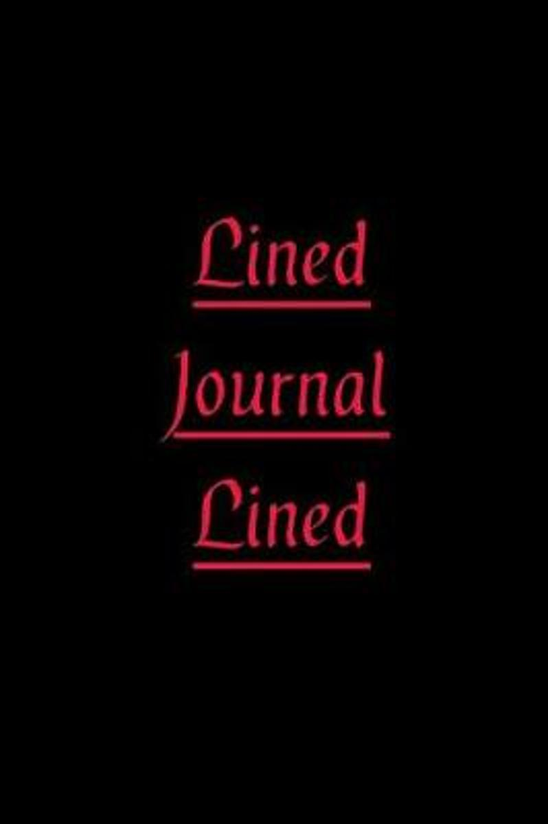 Lined Journal Lined