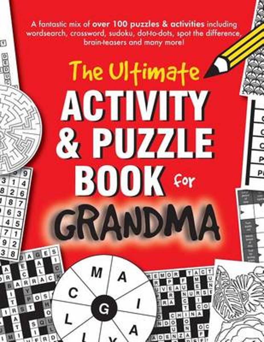 The Ultimate Activity & Puzzle Book for Grandma
