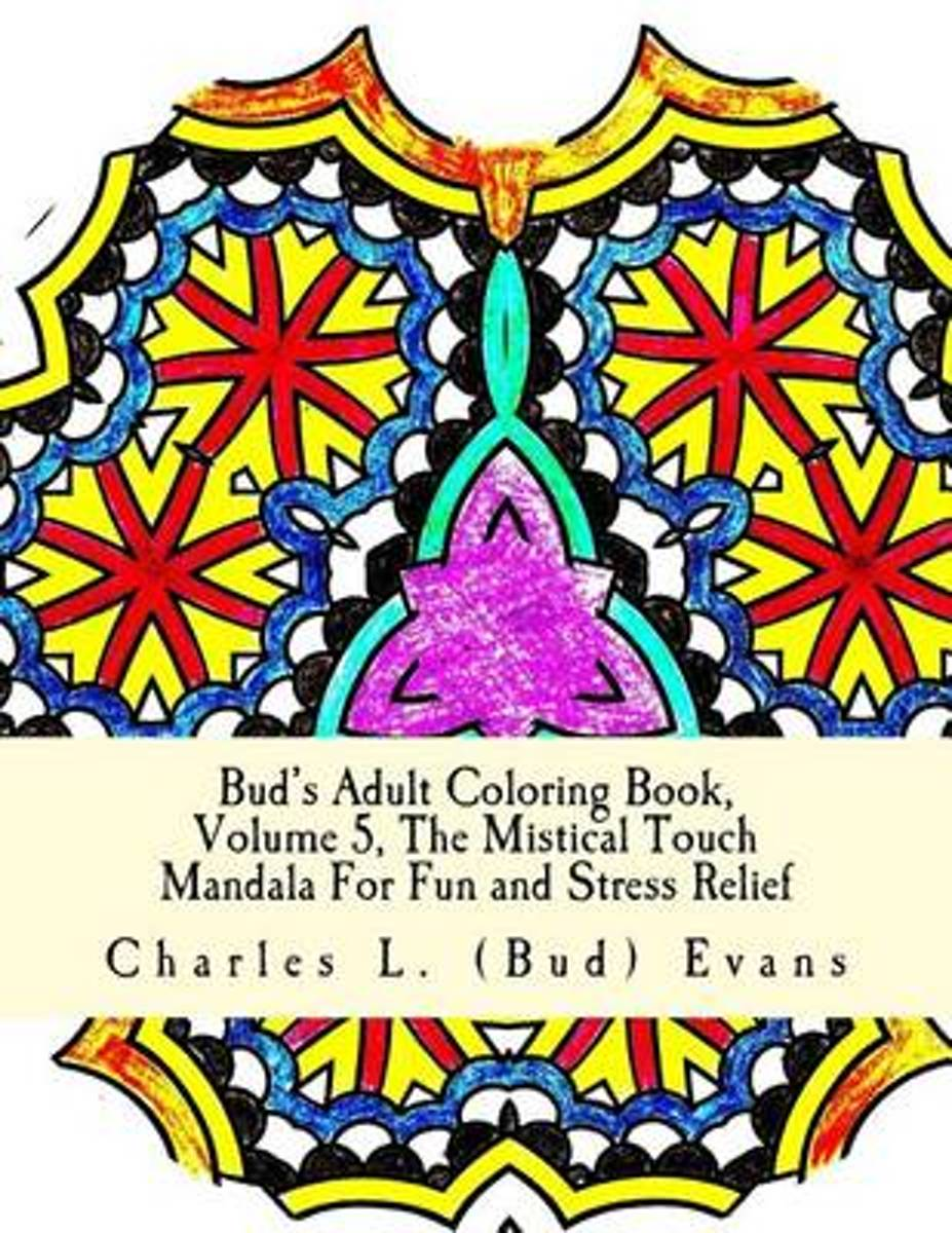 Bud's Adult Coloring Book, Volume 5