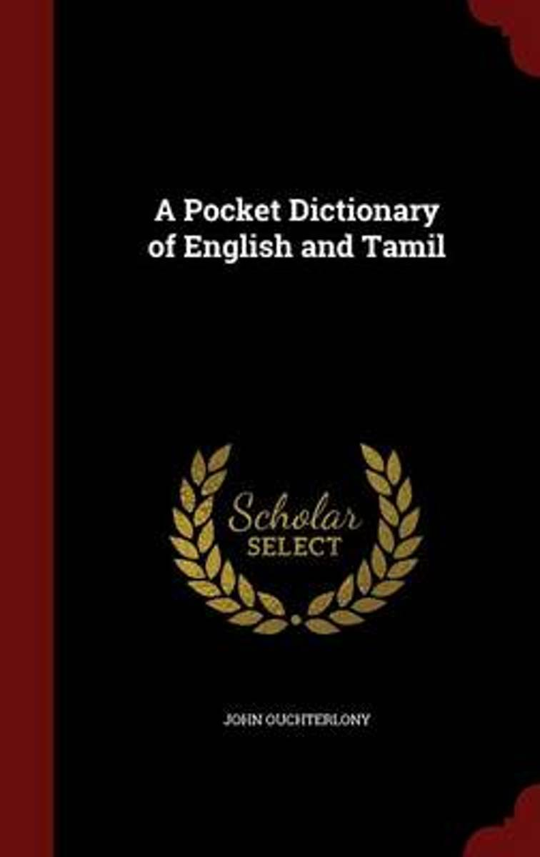 A Pocket Dictionary of English and Tamil