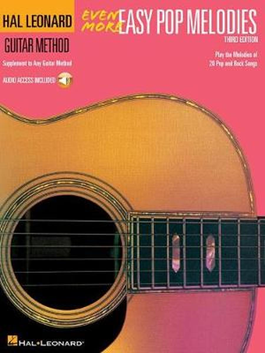 Even More Easy Pop Melodies 3rd Edition (Book/Audio)