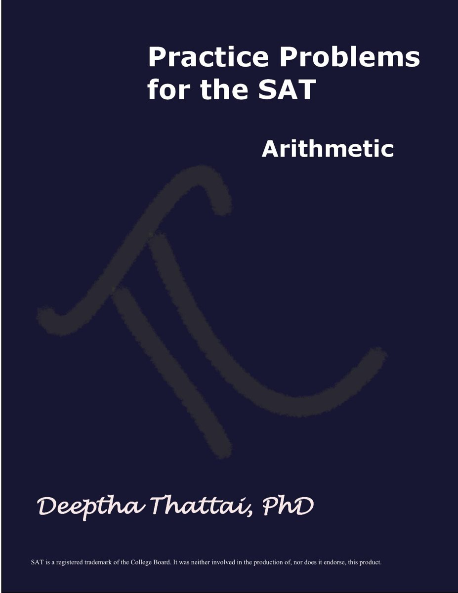 Practice Problems for the SAT Arithmetic