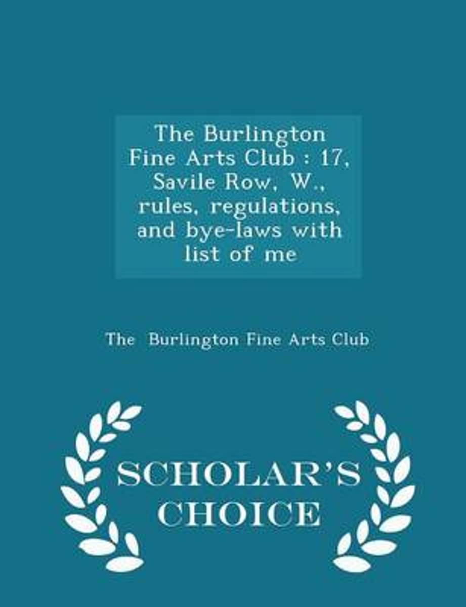 The Burlington Fine Arts Club