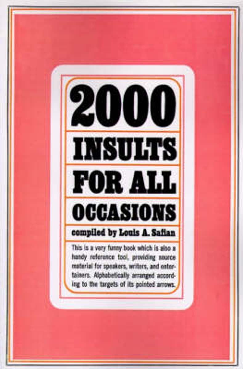 Two Thousand Insults for All Occasions