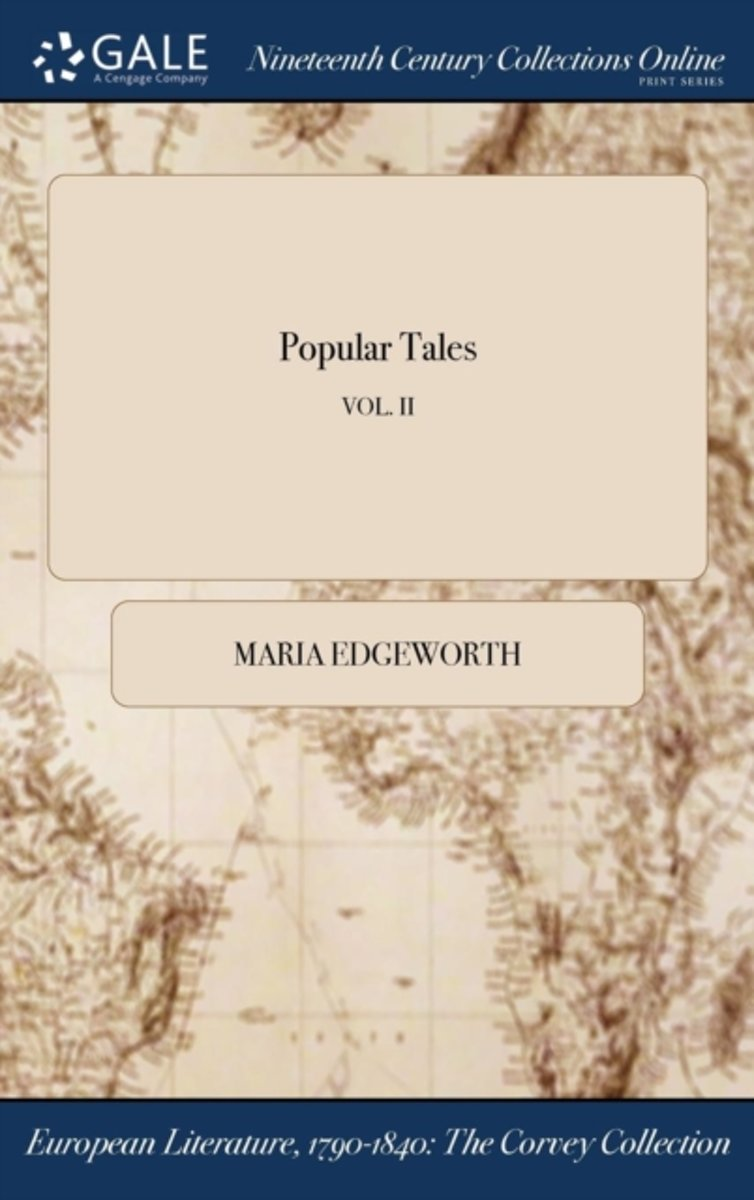 Popular Tales; Vol. II