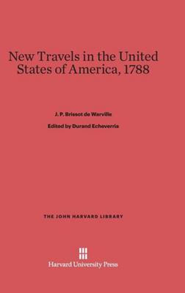 New Travels in the United States of America, 1788