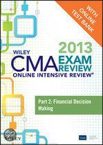 Wiley CMA Exam Review 2013 Online Intensive Review + Test Bank