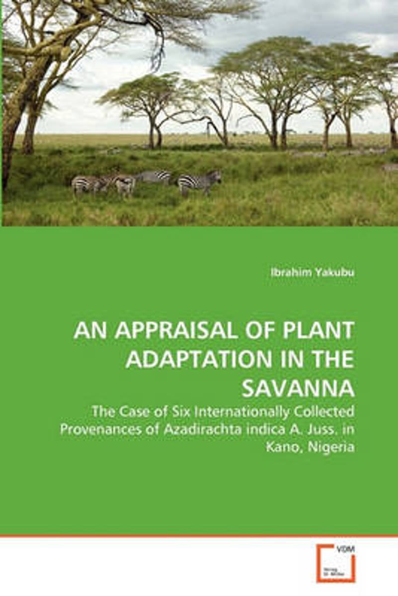 An Appraisal of Plant Adaptation in the Savanna
