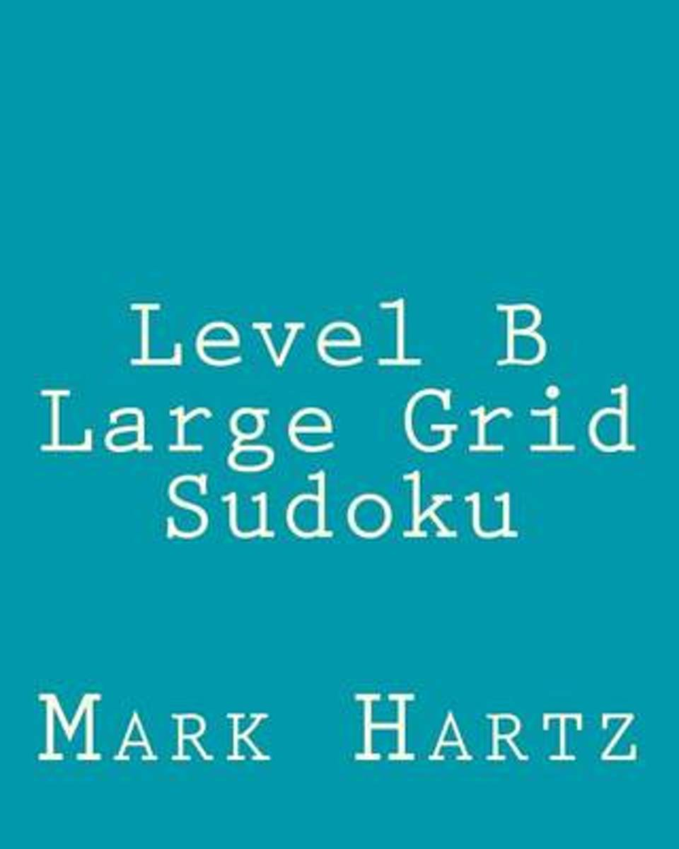 Level B Large Grid Sudoku