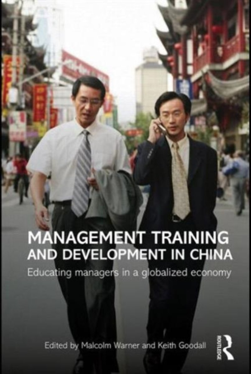Management Training and Development in China