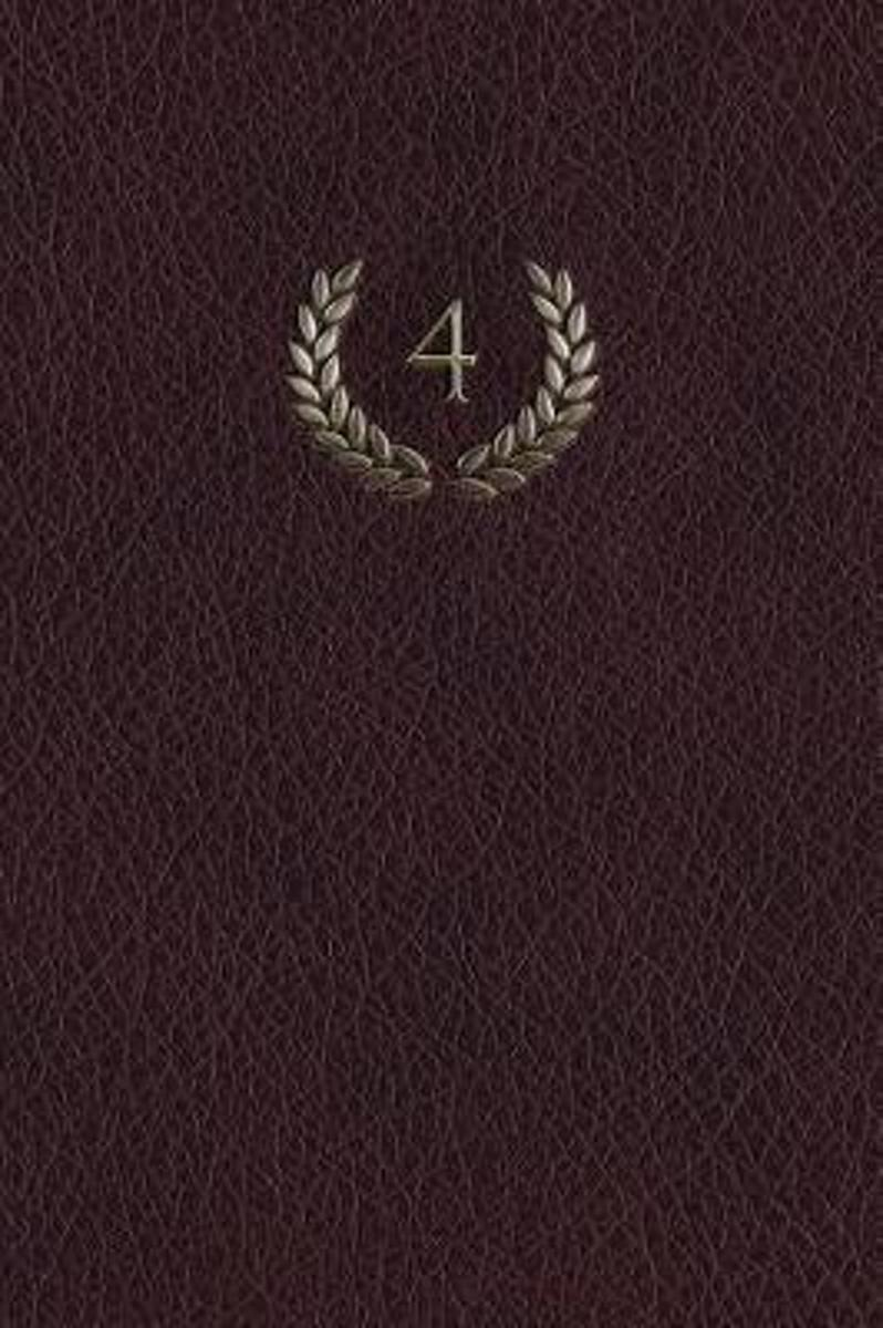 Monogram 4 Any Day Planner Notebook