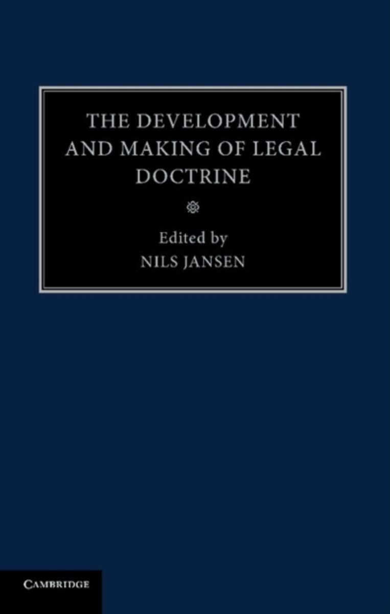 The Development and Making of Legal Doctrine