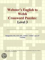 Webster's English to Welsh Crossword Puzzles