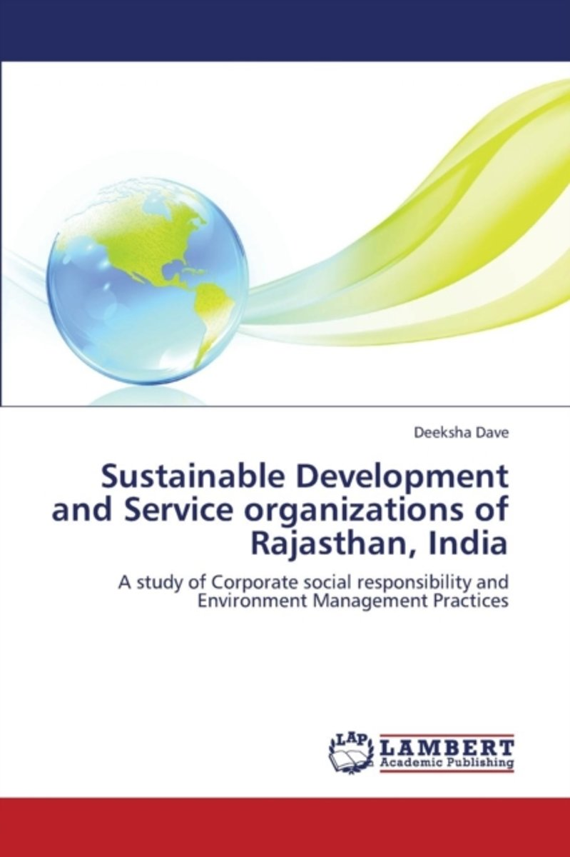 Sustainable Development and Service Organizations of Rajasthan, India