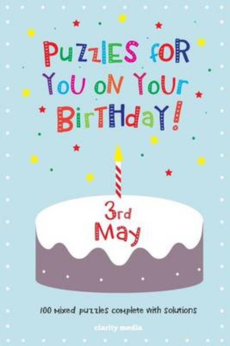 Puzzles for You on Your Birthday - 3rd May