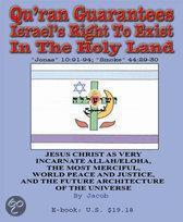 Qu'Ran Guarantees Israel's Right to Exist Securely in the Holy Land As a Jewish State, Then Messianic-Israelite Nation (Jonas 10
