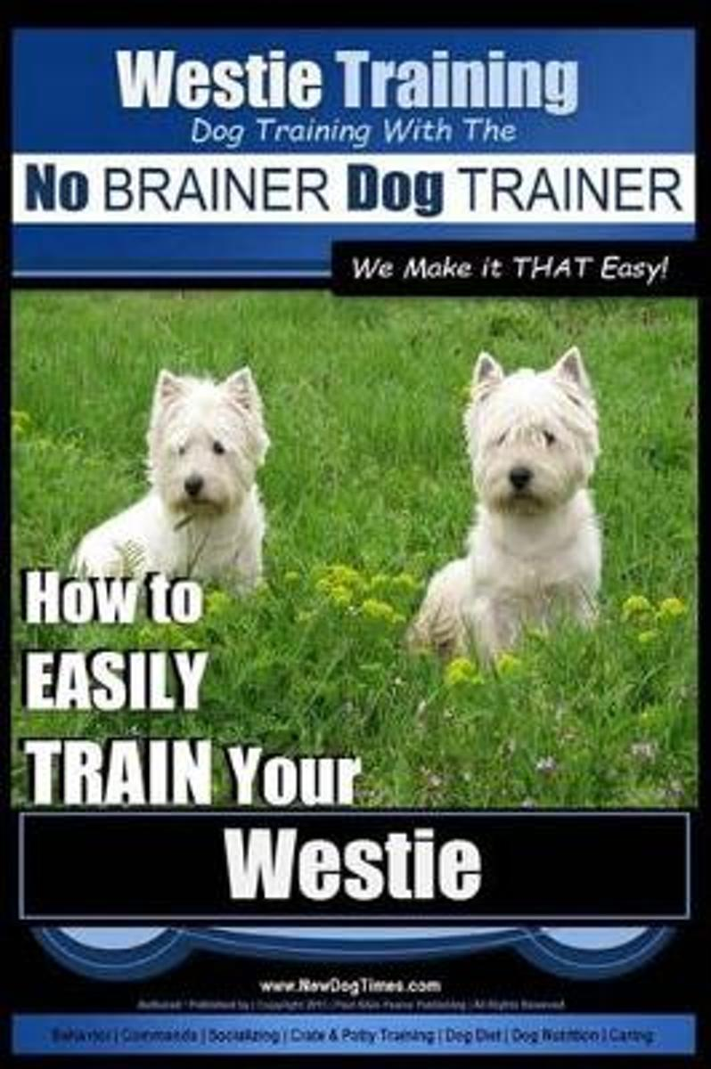Westie Training Dog Training with the No Brainer Dog Trainer We Make It That Easy!