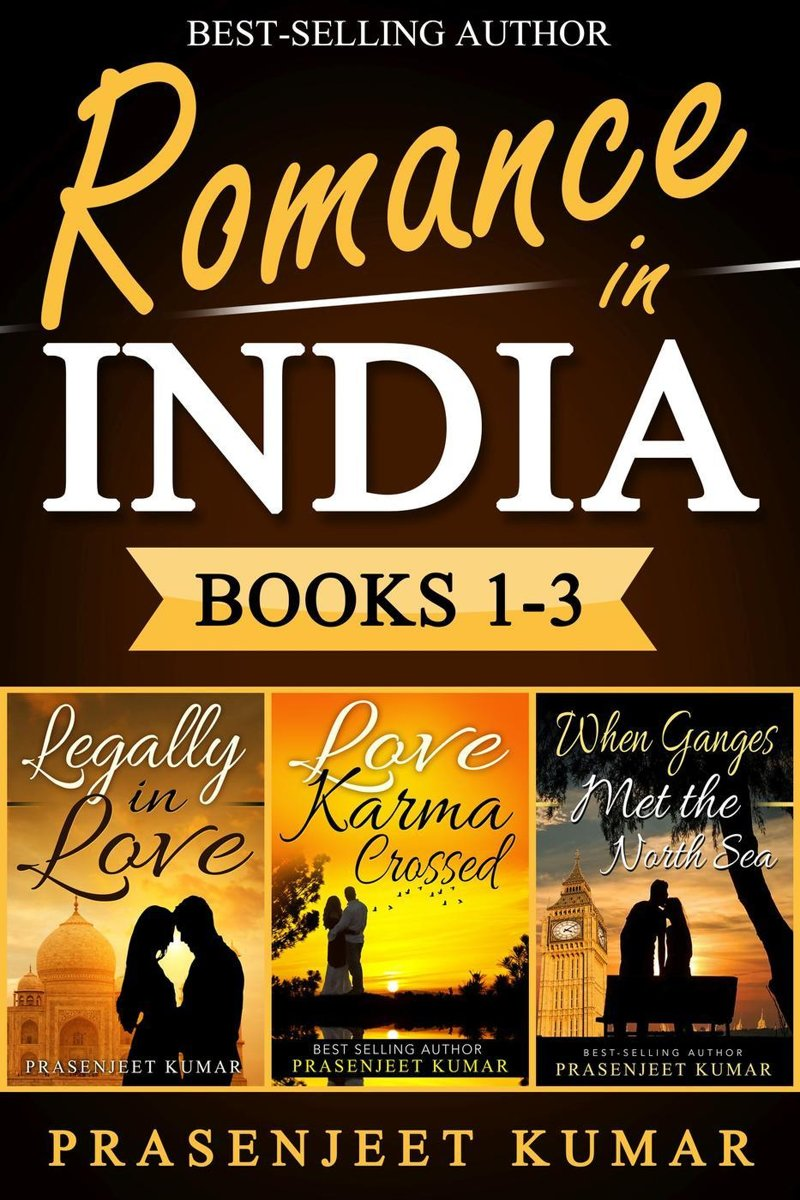 Romance in India Books 1-3: Legally in Love, Love Karma Crossed, When Ganges Met the North Sea