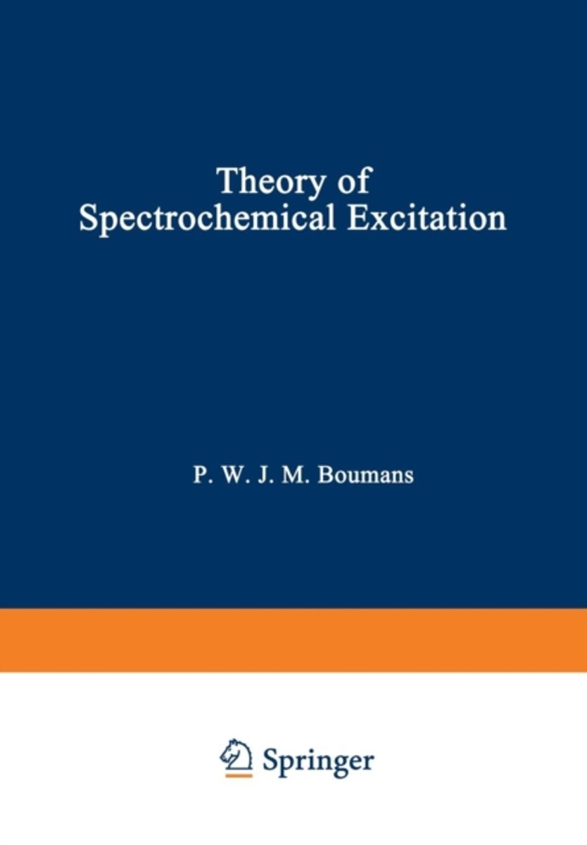 Theory of Spectrochemical Excitation